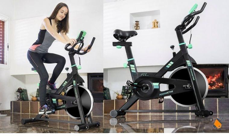 oferta Bicicleta Esta%CC%81tica Cecotec Power Active barata SuperChollos