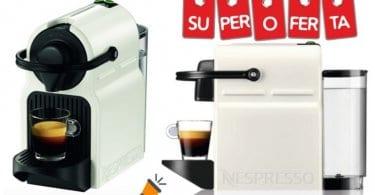 oferta cafetera Nespresso Krups Inissia barata SuperChollos