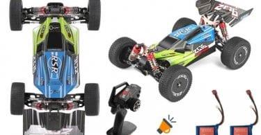 oferta buggy electrico Wltoys 144001 barato SuperChollos