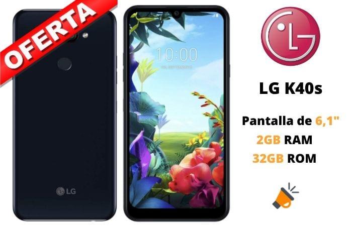 oferta LG K40s barato SuperChollos