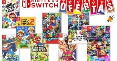 pack juegos nintendo switch barato SuperChollos
