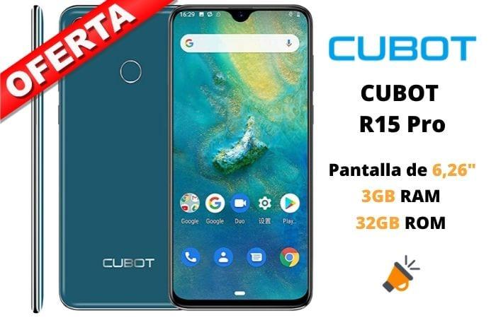 oferta CUBOT R15 Pro barato SuperChollos