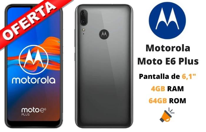 oferta Motorola Moto E6 Plus barato SuperChollos