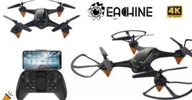 oferta Eachine E38 drone barato SuperChollos