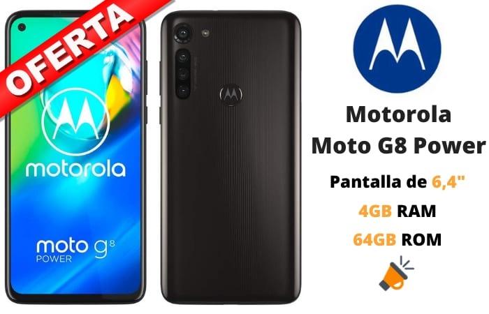 oferta Motorola Moto G8 power barato SuperChollos