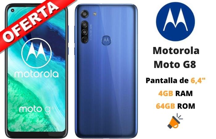 oferta Motorola Moto G8 barato SuperChollos