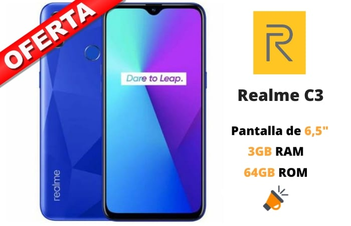oferta Realme C3 barato SuperChollos