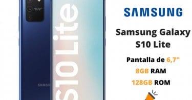 oferta Samsung Galaxy S10 Lite barato SuperChollos