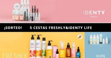 sorteo lote freshly cosmetics identy beauty SuperChollos