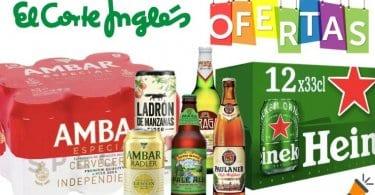 ofertas cerveza el corte ingles SuperChollos