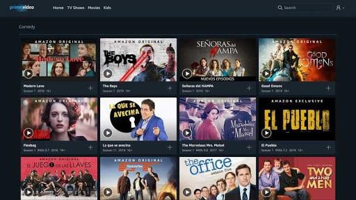 streaming gratis amazon películas