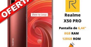 oferta Realme X50 PRO barato SuperChollos