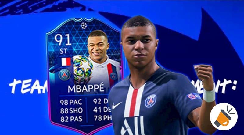 La portada del FIFA 21 será Kylian Mbappé