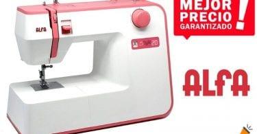 oferta Maquina De Coser alfa Style 20 barata SuperChollos