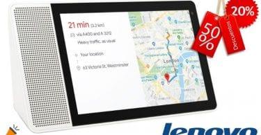 oferta Pantalla Lenovo Smart Display barata SuperChollos