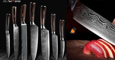 ofertas Cuchillos de cocina XITUO baratos SuperChollos