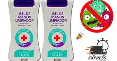 gel desinfectante kavak cosmetics barato SuperChollos