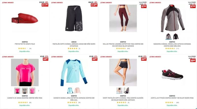 OUTLET DECATHLON FITNESS