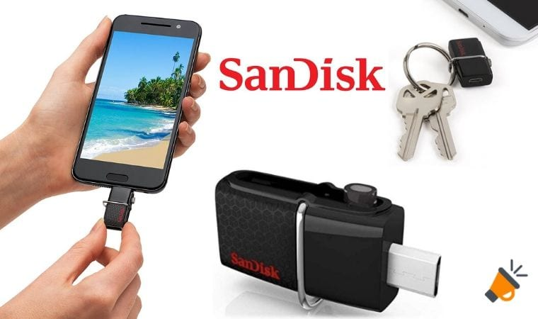 oferta SanDisk Memoria flash 256gb barata SuperChollos
