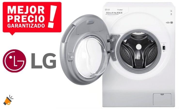 oferta Lavadora secadora LG FH6G1BCH2N barata SuperChollos