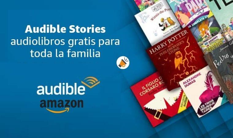 Audiolibros GRATIS para niños en Amazon Audible