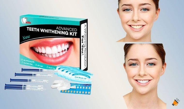 oferta kit blanqueamiento dental isuda barato barato SuperChollos