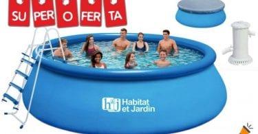 piscina desmontable habitatjardin barata SuperChollos