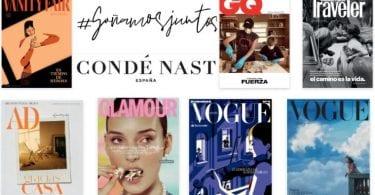 Revistas de Mayo de la editorial Condé Nast GRATIS online