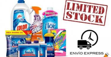 Pack productos de limpieza SuperChollos