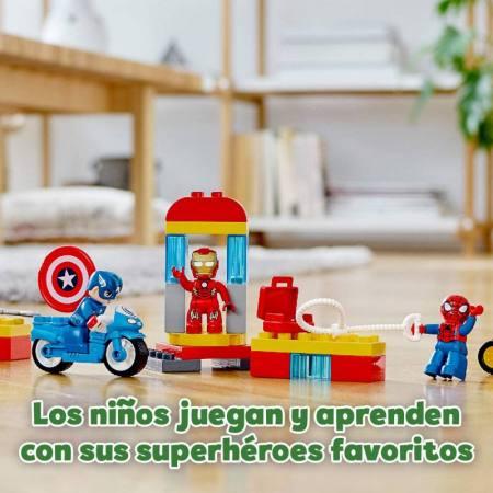 Laboratorio de superhe%CC%81roes Marvel de LEGO scaled SuperChollos