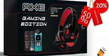 oferta Axe Pack Auriculares Gaming barato SuperChollos