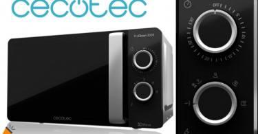 oferta Cecotec ProClean 3050 Microondas barato SuperChollos