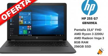 oferta HP 255 G7 6BN09EA barato SuperChollos