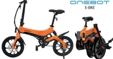 oferta ONEBOT S6 Bicicleta ele%CC%81ctrica barata SuperChollos