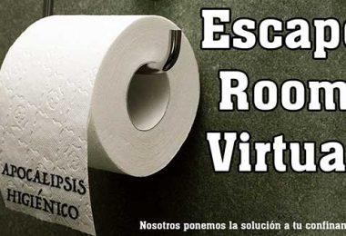 Escape room online apocalipsis higiénico superchollos