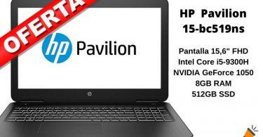 OFERTA HP Pavilion 15 bc519ns BARATO SuperChollos