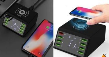 oferta cargador USB inala%CC%81mbrico STOD barato SuperChollos