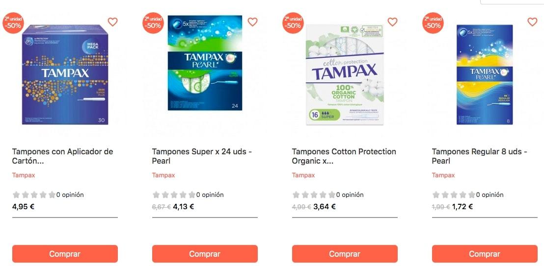 ofertas tampax belletica SuperChollos