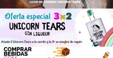 licor ginebra unicorn tears barato SuperChollos