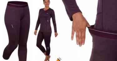 oferta pantalon termica WEDZE 500 barato SuperChollos
