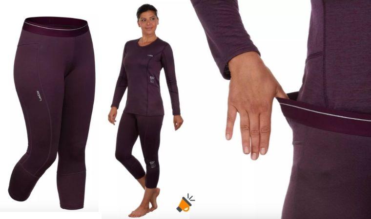 40 Dto Pantalones Termicos Para Mujer Desde 3 En Decathlon