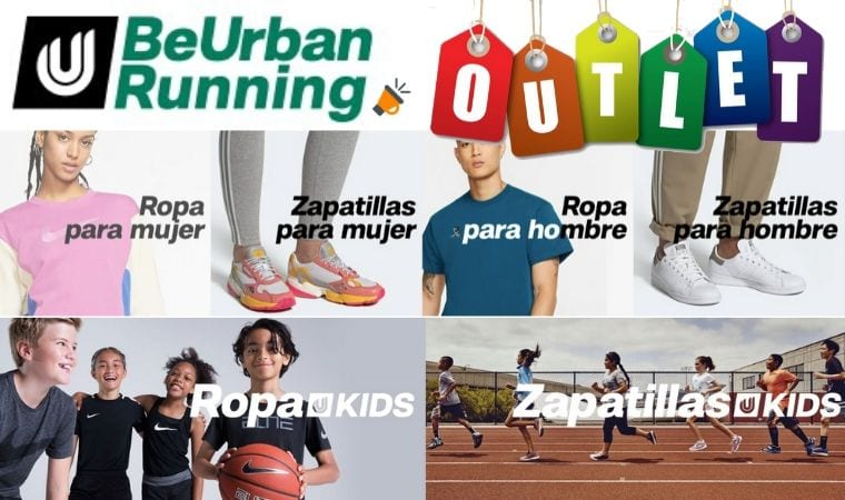 beurbanrunning outlet SuperChollos
