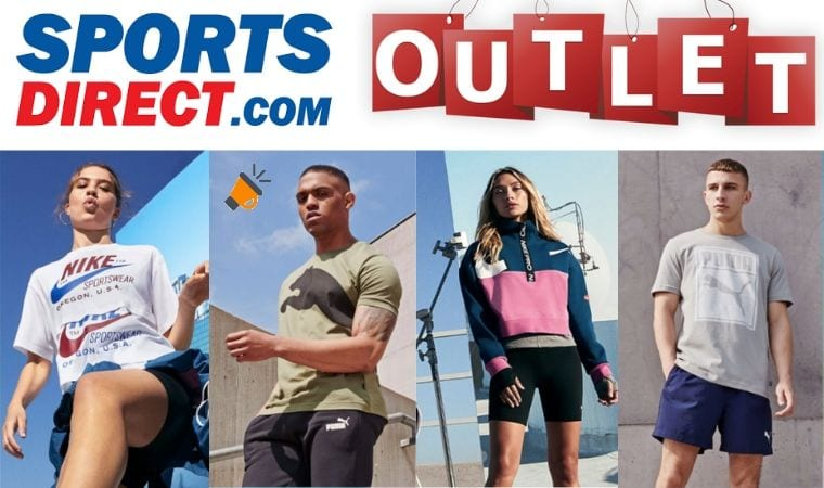 Outlet SportsDirect SuperChollos
