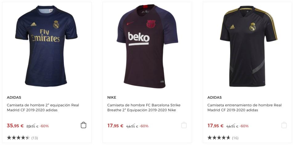 camisetas futbol oficiales baratas1 SuperChollos