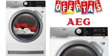 oferta secadora AEG T9DEC876 barata SuperChollos