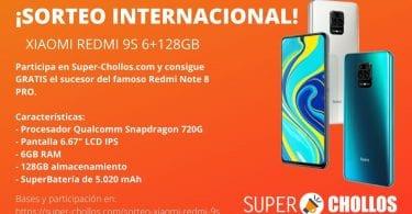 sorteo internacional xiaomi redmi 9s superchollos 1 SuperChollos