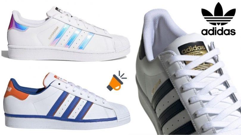 Zapatillas Adidas Superstar con el 50% DTO. en El Corte Inglés