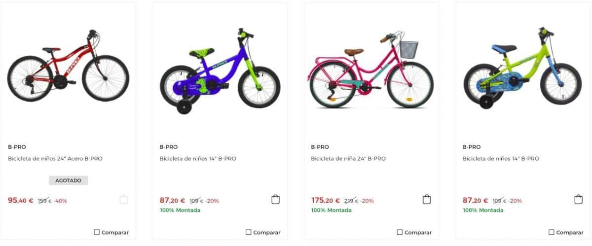 corte ingles bicicletas baratas1 scaled SuperChollos