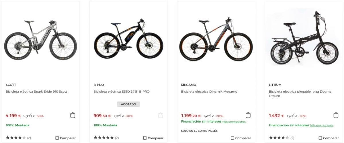 corte ingles bicicletas baratas3 scaled SuperChollos
