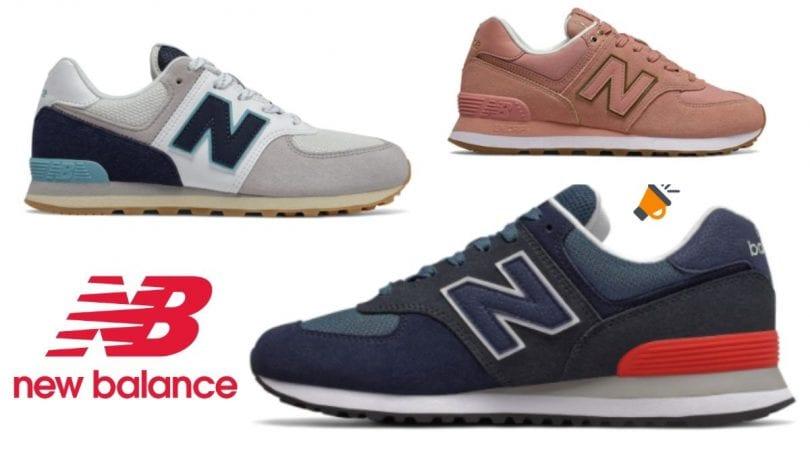 Zapatillas New Balance 574 con el 30% DTO. en El Corte Inglés